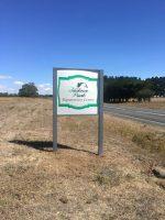 Jackson park sign