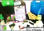 Bushfire Kits - Choose 1 to 6 persons, Storm, Camping, Vehicle Kits and more..